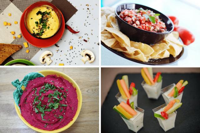 4 Einfache Vegane Dips Perfekt Fur Fingerfood Zum Grillen